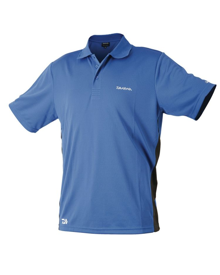 Daiwa Polo Shirt Blue/Black