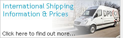 International Shipping Information & Prices